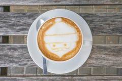 Caffè di Santa Claus Fotografie Stock