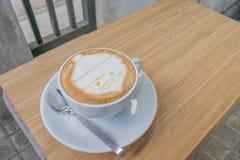 Caffè di Santa Claus Fotografia Stock