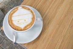 Caffè di Santa Claus Fotografia Stock Libera da Diritti