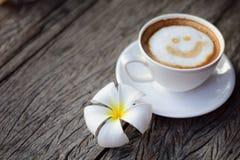 Caffè di sorriso Immagini Stock