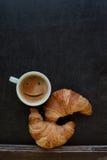 Caffè di sorriso Fotografie Stock