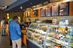 Caffè di Starbucks Immagini Stock