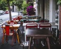 Caffè di Streetside a Roma Fotografia Stock Libera da Diritti