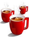 Caffè di vettore Immagine Stock Libera da Diritti