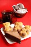 Caffè e biscotti Immagine Stock Libera da Diritti