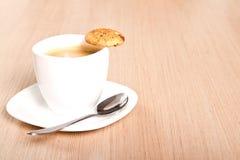 Caffè e biscotto Immagine Stock