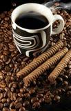 Caffè e cioccolato Immagini Stock Libere da Diritti