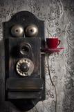 Caffè e comunicazione Fotografia Stock Libera da Diritti