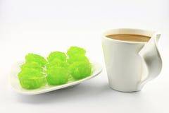 Caffè e dessert. Immagine Stock Libera da Diritti