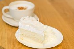 Caffè e dolce Immagine Stock Libera da Diritti