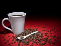 Caffè e fagioli fotografia stock libera da diritti