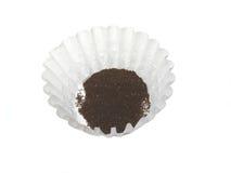 Caffè e filtro Fotografie Stock