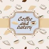 Caffè e forno Immagini Stock Libere da Diritti