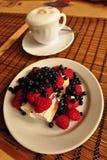 Caffè e gelato Fotografia Stock Libera da Diritti