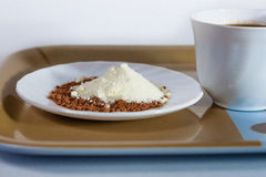 Caffè e latte Immagini Stock Libere da Diritti