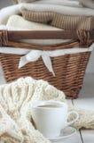 Caffè e maglioni Fotografia Stock