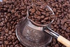 Caffè e POT turco Fotografia Stock Libera da Diritti