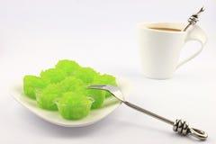 Caffè e riso appiccicoso Immagini Stock Libere da Diritti