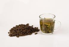 Caffè e tè Fotografia Stock Libera da Diritti