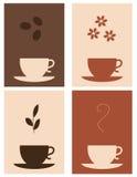 Caffè e tè illustrazione di stock