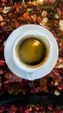 Caffè e tè in caffè Fotografia Stock Libera da Diritti