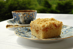 Caffè e torta Immagini Stock