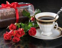 Caffè e torta. Fotografia Stock Libera da Diritti