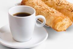 Caffè e torte Fotografia Stock Libera da Diritti