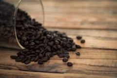 Caffè (effetto d'annata elaborato immagine filtrato fotografia stock