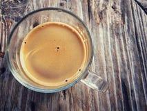 Caffè espresso caldo Immagini Stock