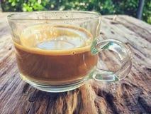 Caffè espresso caldo Fotografie Stock Libere da Diritti