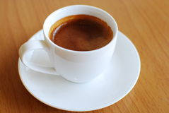 Caffè espresso caldo del caffè Fotografia Stock