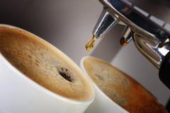 Caffè espresso della macchina del caffè Immagine Stock Libera da Diritti
