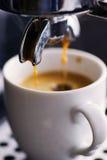 Caffè espresso fresco Immagini Stock