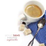 Caffè espresso italiano Fotografie Stock Libere da Diritti