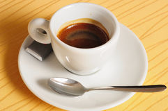 Caffè espresso italiano fotografia stock libera da diritti