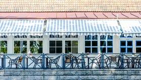 Caffè esterno Fotografia Stock Libera da Diritti