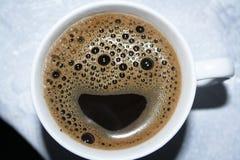 Caffè felice Fotografia Stock