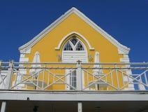 Caffè giallo del Key West Florida Fotografia Stock