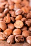 Caffè grezzo Fotografia Stock
