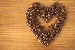 Caffè heart_2 Fotografia Stock