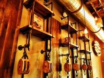 Caffè industriale fotografie stock libere da diritti