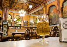 Caffè Iruna, Bilbao fotografie stock libere da diritti