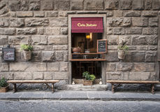 Caffè Italiano antique coffee bar in Florence Italy Royalty Free Stock Images