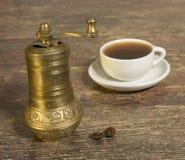 caffè-laminatoio fotografia stock libera da diritti