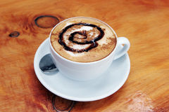 Caffè Latte Immagine Stock