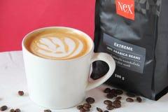 Caffè Macchiato, Coffee, Flat White, Coffee Milk royalty free stock photos