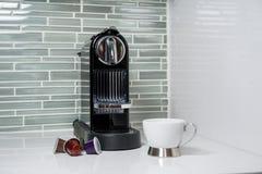Caffè-macchina Fotografie Stock