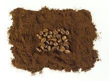 Caffè macinato Immagine Stock