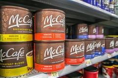 Caffè macinato di McCafe Immagine Stock Libera da Diritti
